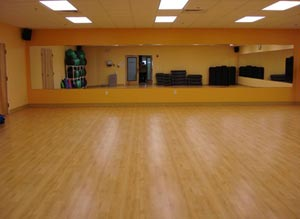 825 Oak Flex Sprung Dance Floor