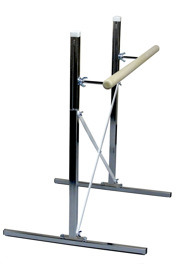 free standing single portable ballet barre