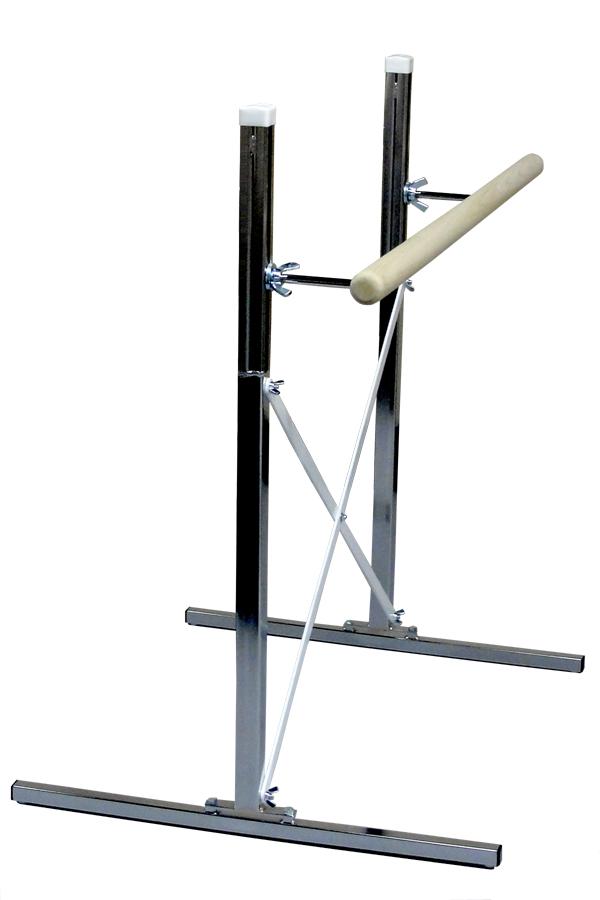 free standing single portable ballet barre