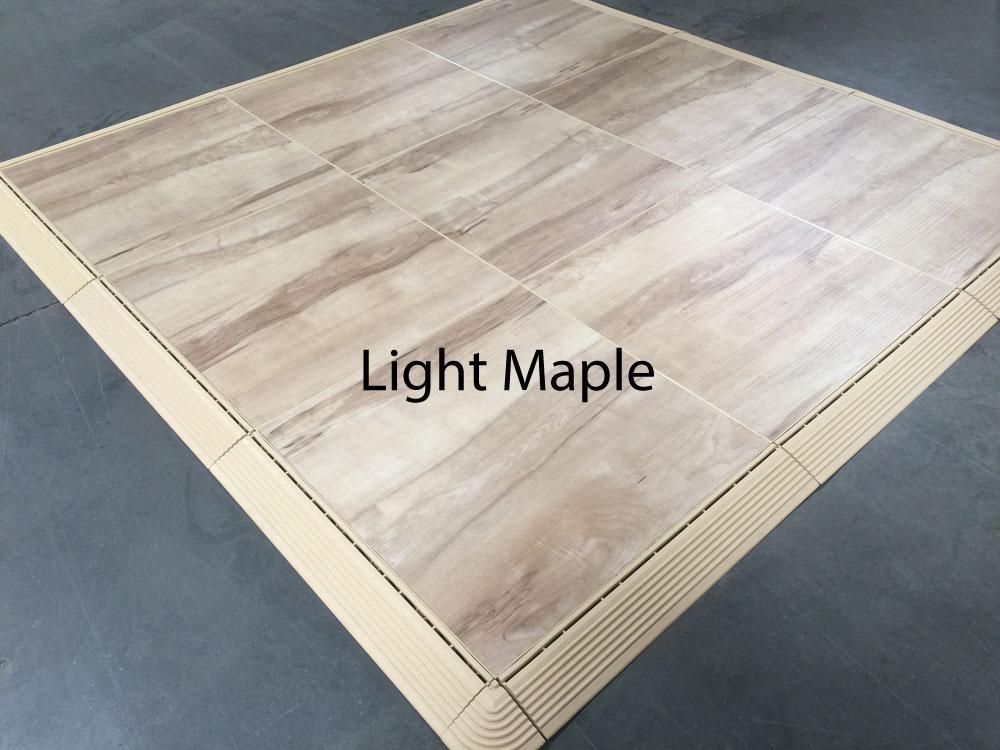 Portable Modular Dance Flooring For Ballet Tap Jazz Aerobics - Discount dance flooring