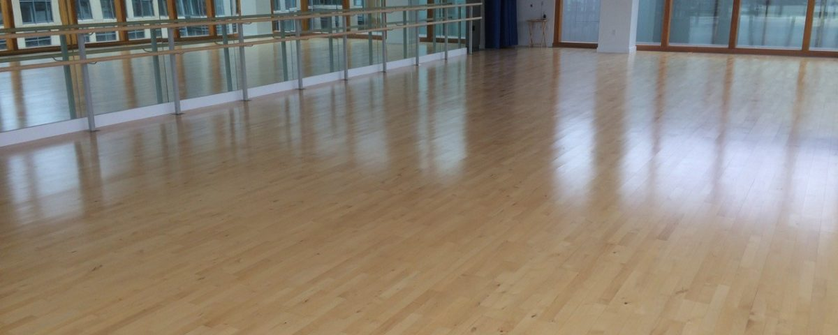 dance floor installation - elite springflex dance floor system