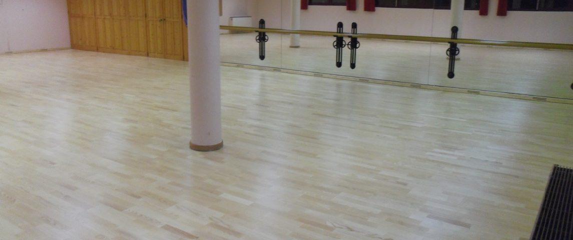 850 Maple-flex sprung floor