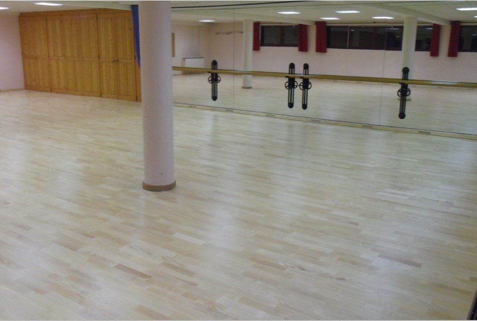 850 Maple-flex sprung floor